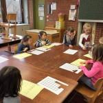 Schnupperstunde im Klassenzimmer