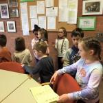 Auch das Lehrerzimmer war interessant