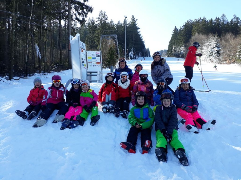 Unser Skimannschaft 2018