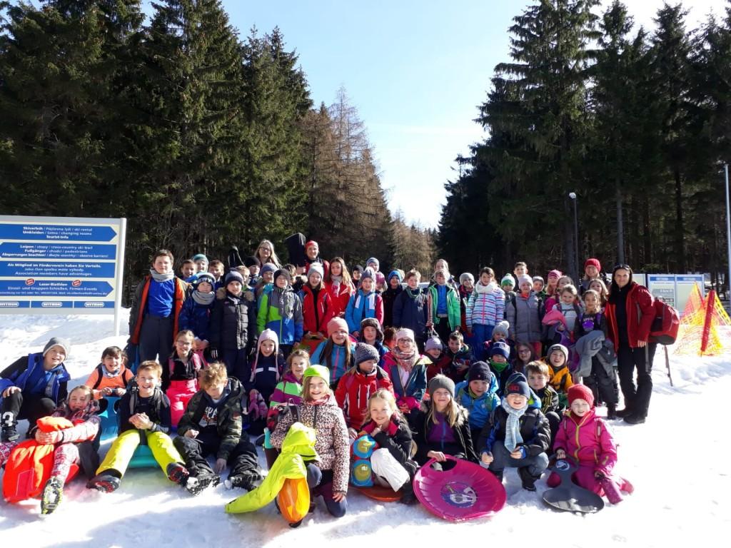 Wintersporttag auf der Silberhütte