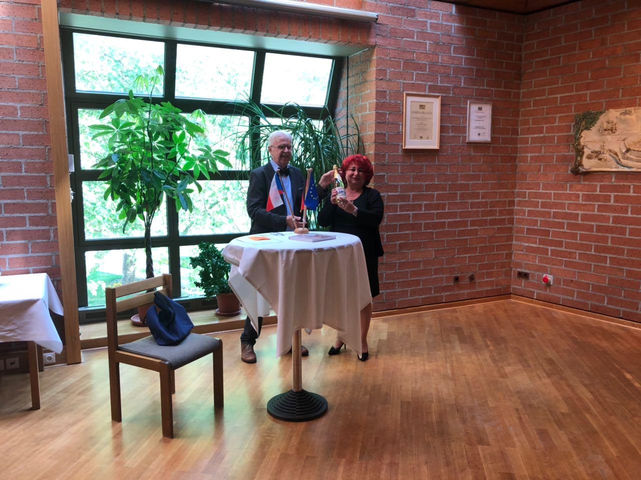 Rainer Christoph und Dana Pflaum sind die tragenden Säulen der Partnerschaft